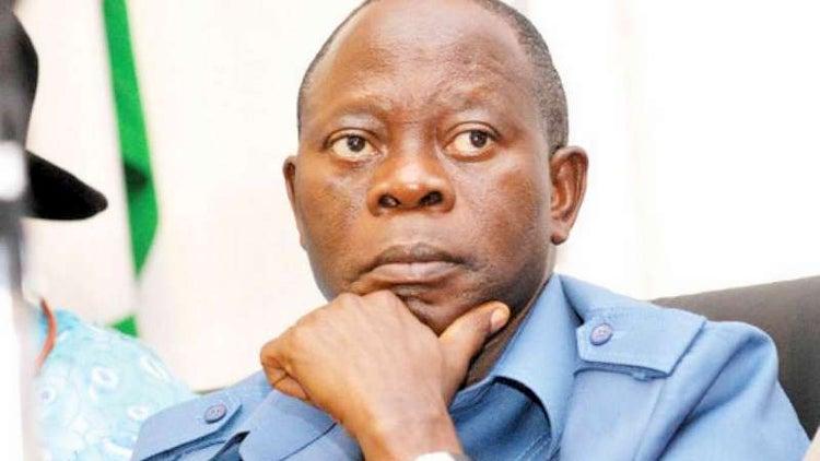 Adams Oshiomole Edo Governor