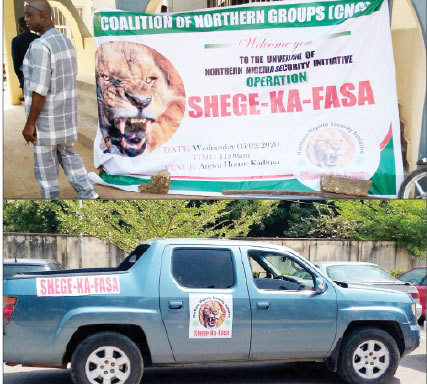 Operation Shege Ka Fasa 1