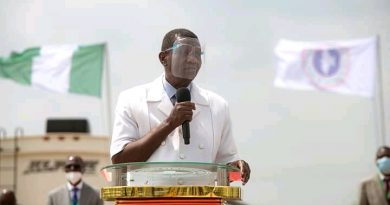 Pastor Adeboye of RCCG