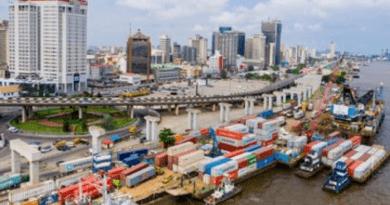 Barge Operations along Lagos Marina Coastlines