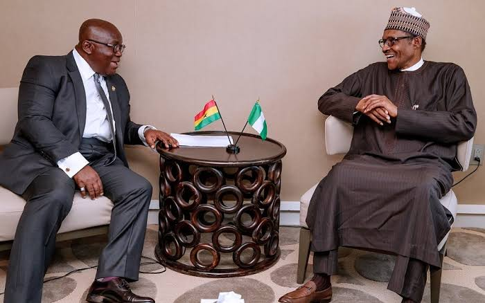 Buhari holds closed door meeting with Ghanaian president