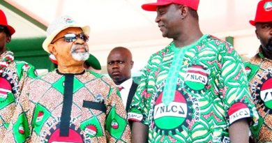Dr Chris Ngige minister for Labour and NLC president Ayuba Wabba