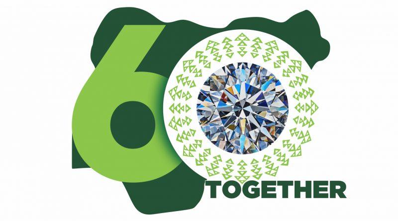 Nigeria @ 60 logo old