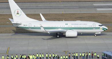 Nigerias Presidential jets