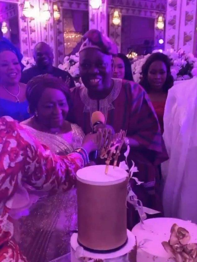 Rasaq Okoya throws birthday bash for first wife Kuburat