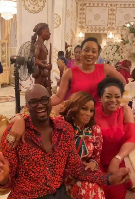 Rasaq Okoya throws birthday bash for first wife Kuburat3