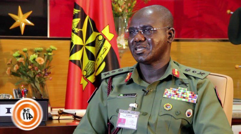 Chief of Army Staff Lt. Gen. Tukur Buratai