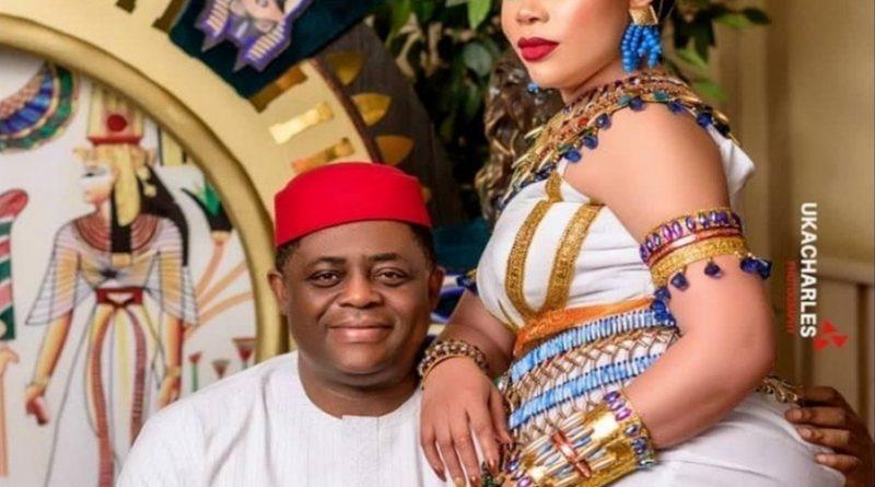 femi fani kayode and wife precious chikwendu