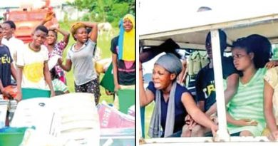suspected looters
