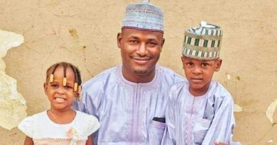 the Husband Ibrahim and the deceased children Irfan and Zuhura