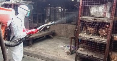 Lagos Begins Pre Festive Season Disinfection of Live Bird Markets2