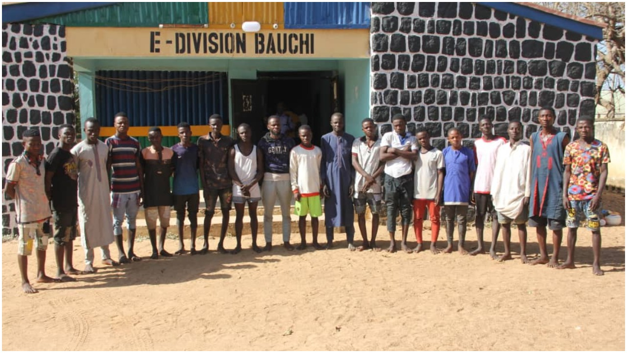 22 Suspects Arrested For Bauchi Sex Party