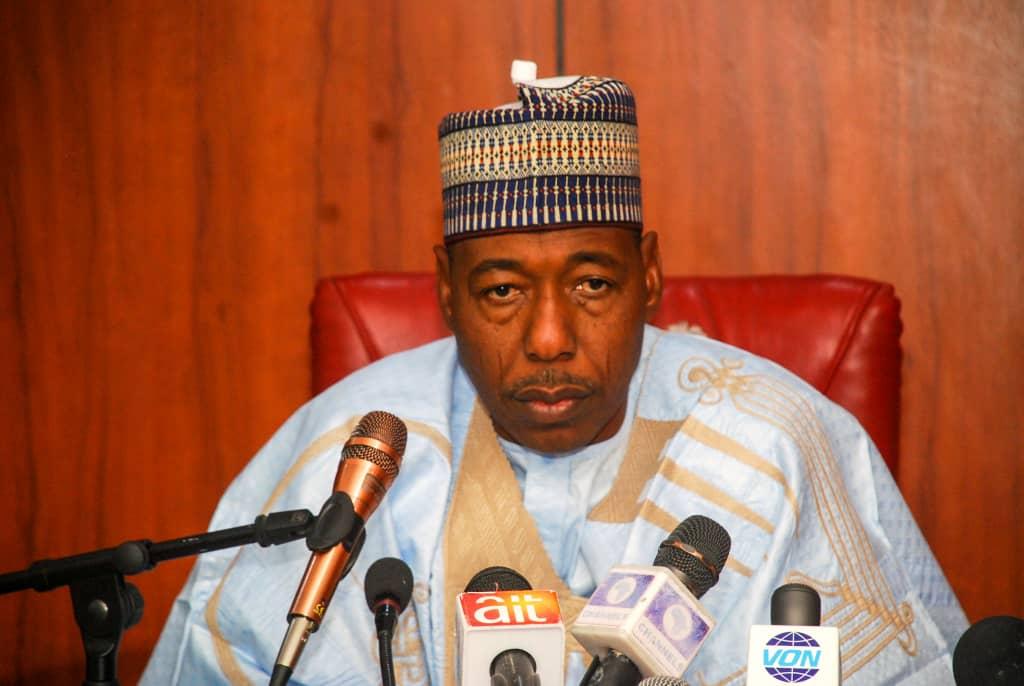Borno State Governor Babagana Zulum