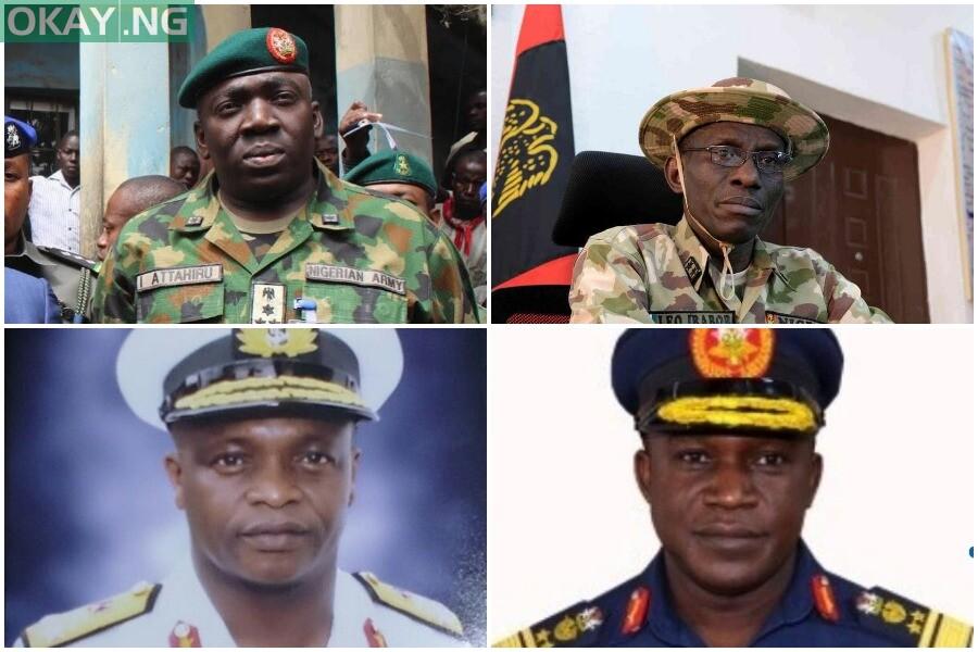 New Service Chiefs Okay ng
