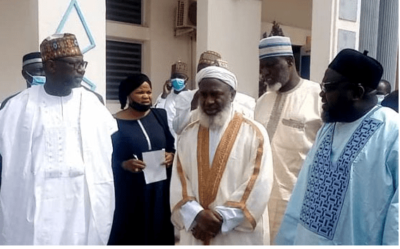 Gumi and Niger State Governor Abubakar bello