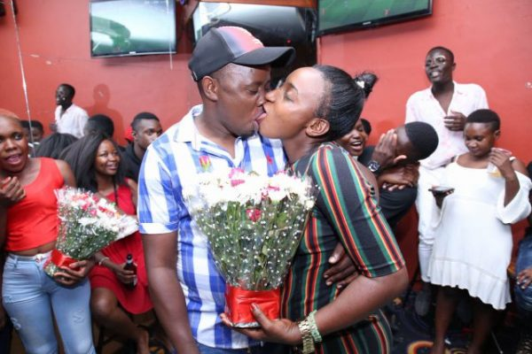 Photos from a kissing competition in Uganda on Valentines day Lailasnews 2 600x400 1