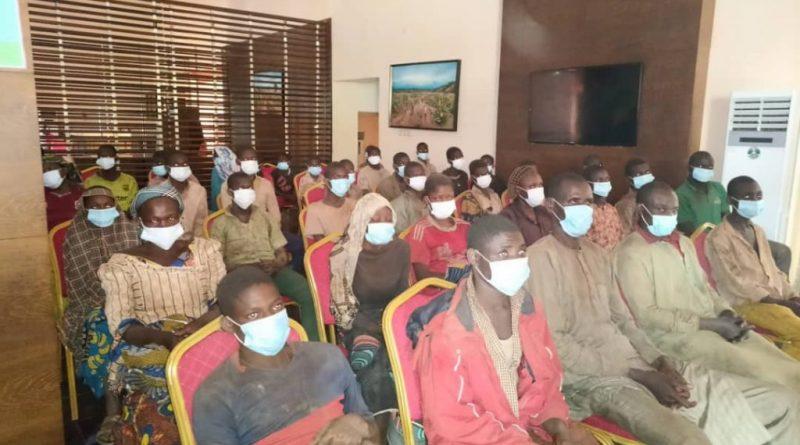 freed Kagara pupils