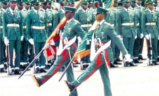 NIGERIAN ARMY PARADE