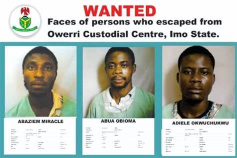 Jailbreaks: FG Seeks INTERPOL's Support To Arrest Over 3,400 Escaped Inmates
