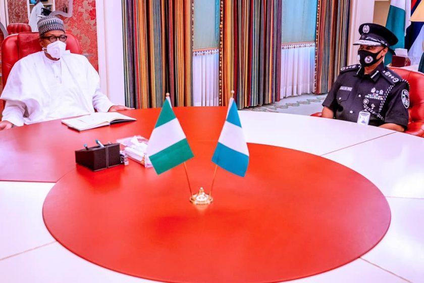 IGP Baba and Buhari