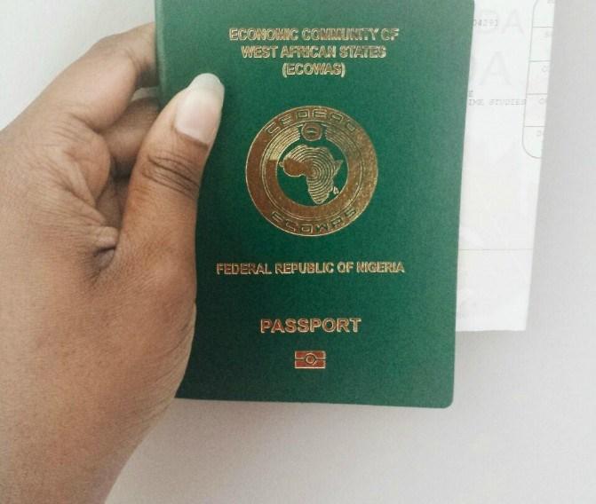 Nigerian Passport 1