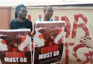 Two Arrested With 'Buhari-Must-Go' Posters In Kogi