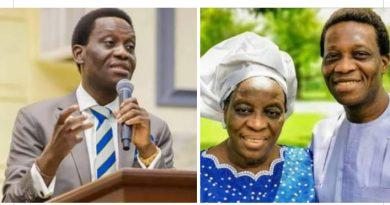 ADEBOYE SON AND MAMA