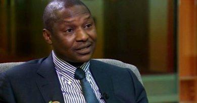 Attorney General of the Federation Abubakar Malami