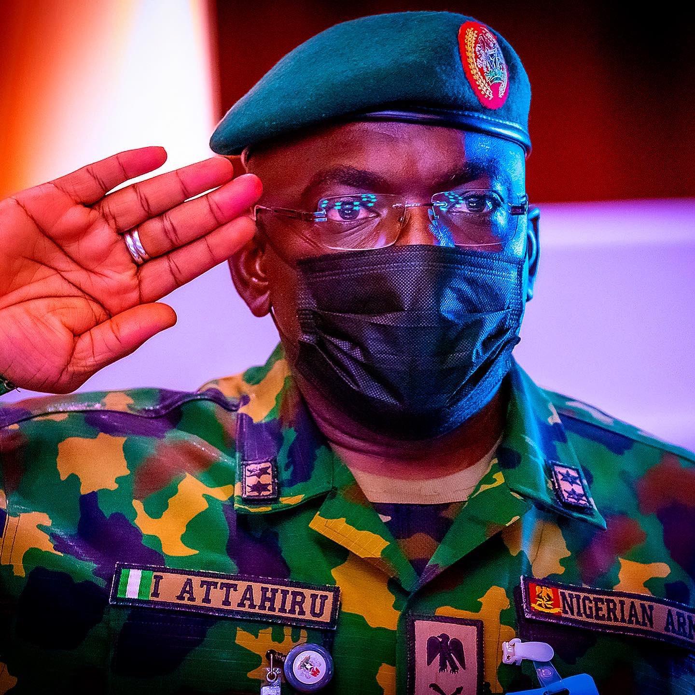 Chief of Army Staff Lt. Gen. Ibrahim Attahiru
