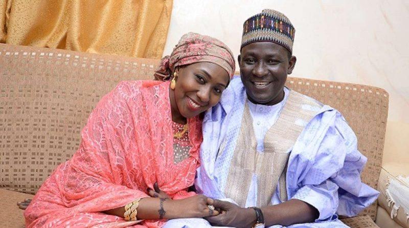 Gimba Yau Kumo and Fatima Buhari