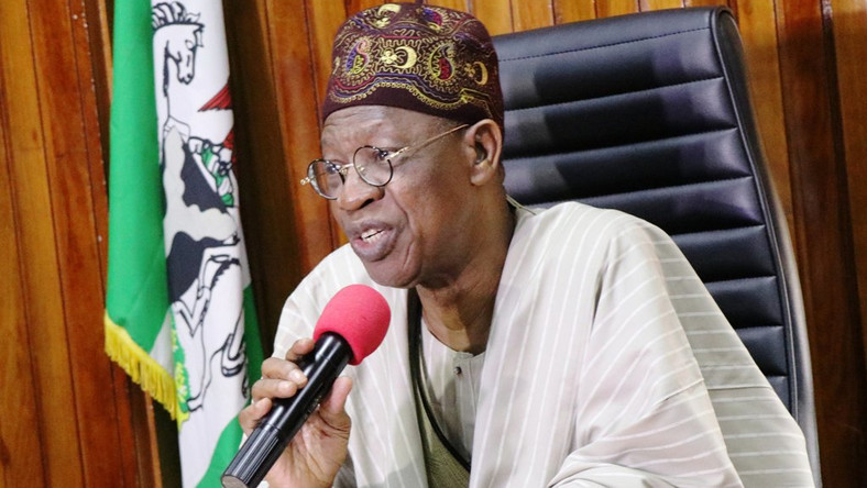 Minister of Information and Communication Lai Mohammed