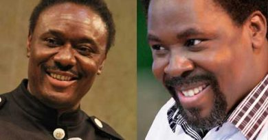 Just In: Okotie Mocks TB Joshua's Demise, Says 'The Wizard Has Been Consumed by Divine Indignation'