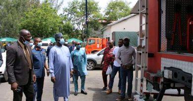 PHOTOS: NEMA DG Takes Tour of Headquarters in Abuja