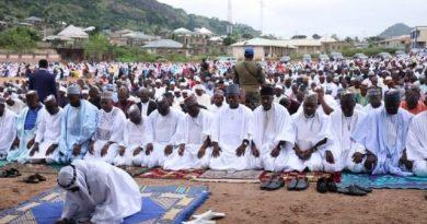 FG Issues Directive on Eid-el-Kabir Prayers