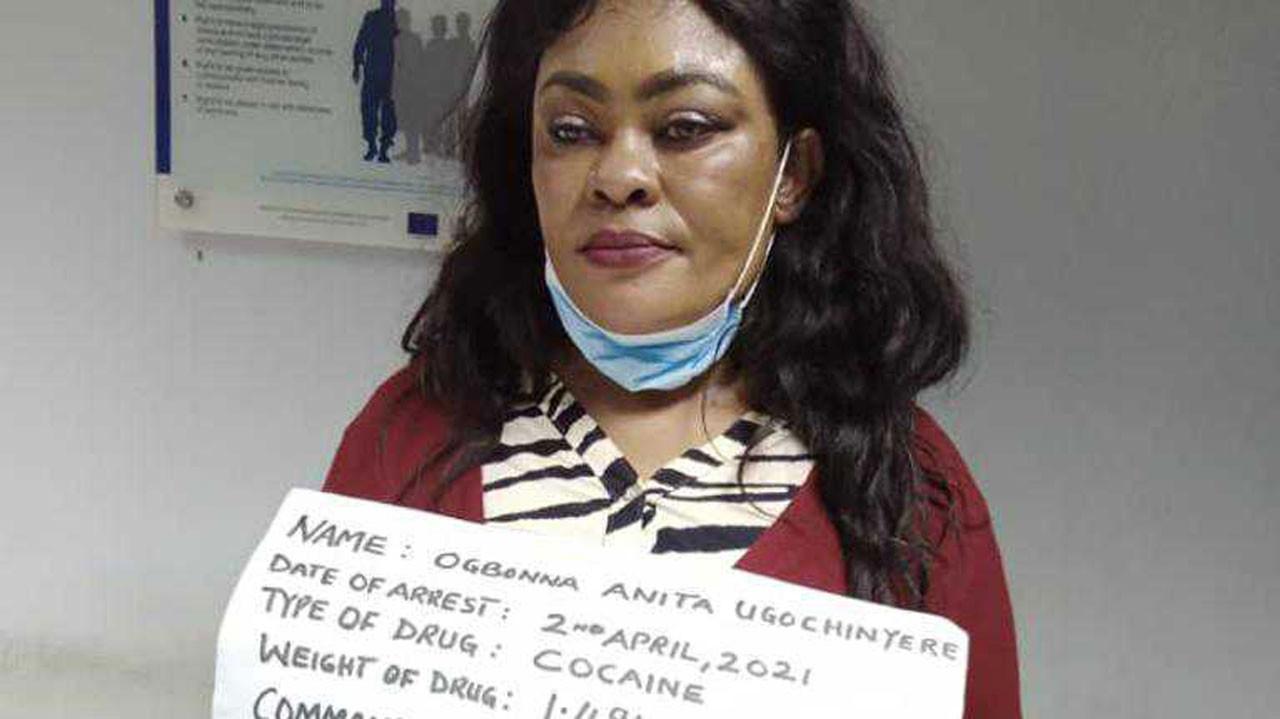 Anita Ogbonna cocaine in vagina