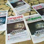Front page of Nigerian Newspapers on Monday, July 12, 2021