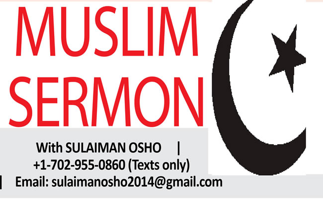 Muslim sermon logo